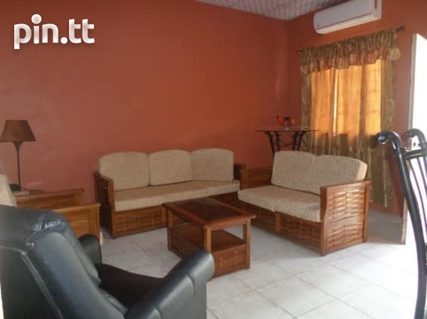 Couva Furnished 1 Bedroom Apartment-3