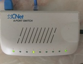 8 port fast ethernet network switch