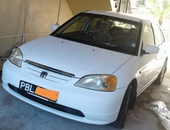 Honda Civic, 2001, PBL