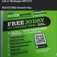 FREE 1MTH UNLIMITED DATA