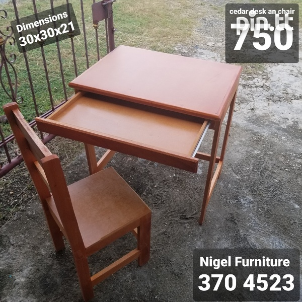 Kids chair and desk-1