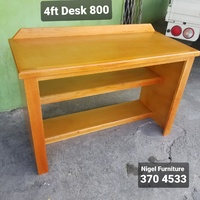 Desk and bookshelf in one