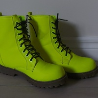 Neon Green Boots