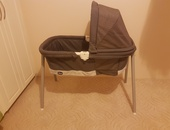 Chicco Lullago Deluxe Portable Bassinet, Charcoal
