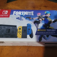 Nintendo Switch Fortnite Edition with Travel Case