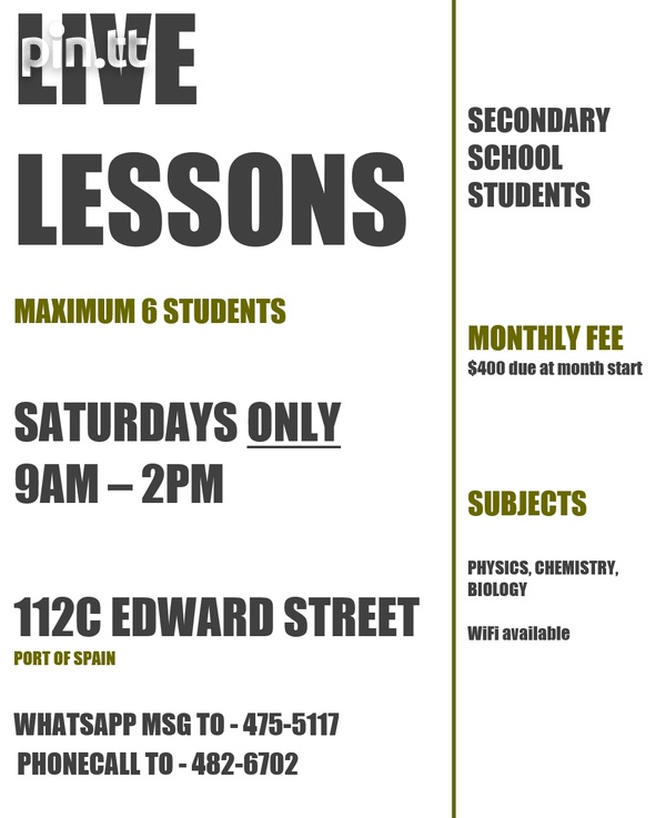 Live Saturday Lessons-2