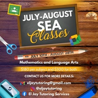 Online July-August Summer Classes
