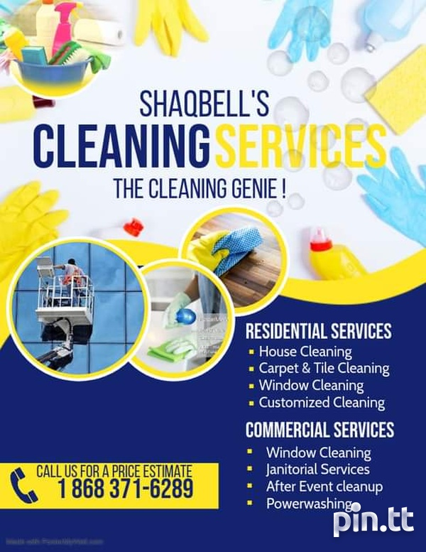 Shaqbell's cleaning service