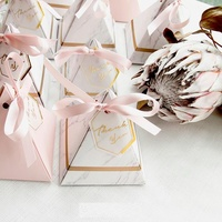 Marble Favor Boxes