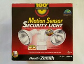 Security Light, Motion Activated
