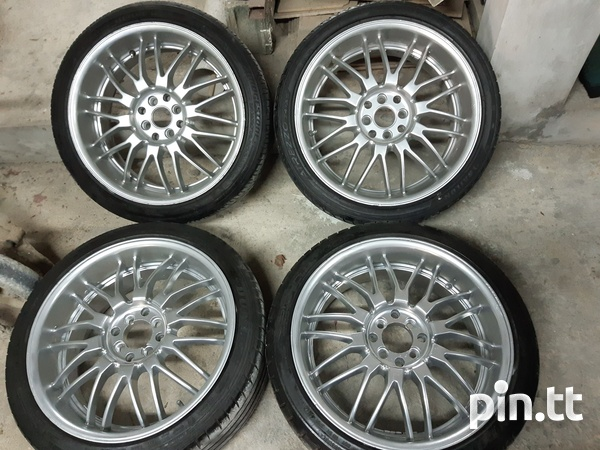 18inch rims and tyres - SOLD