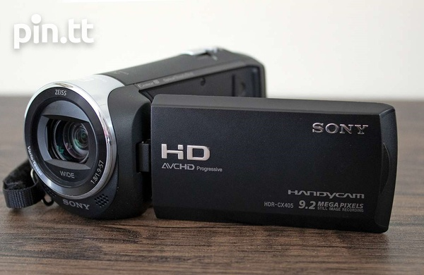 Sony HDR-CX405 Video Camera-1