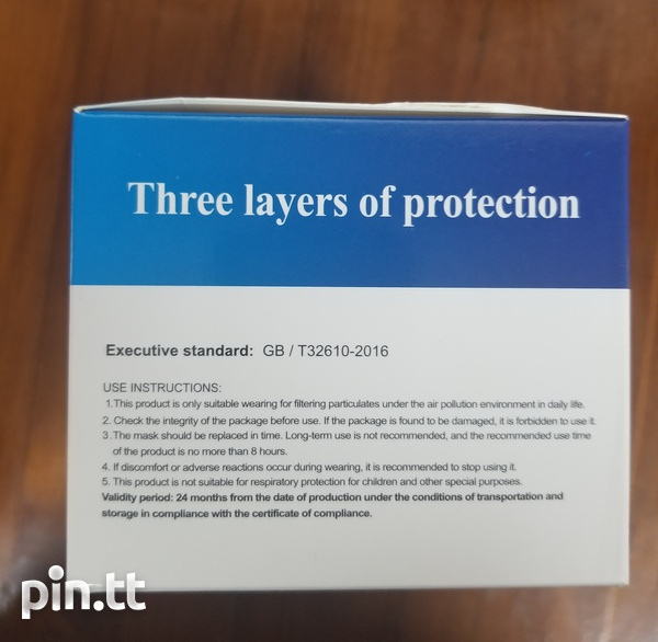 Disposable 3 Layer Face Mask-3