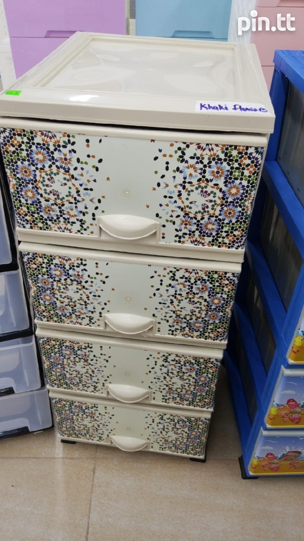 Plastic Chest of Drawers-6