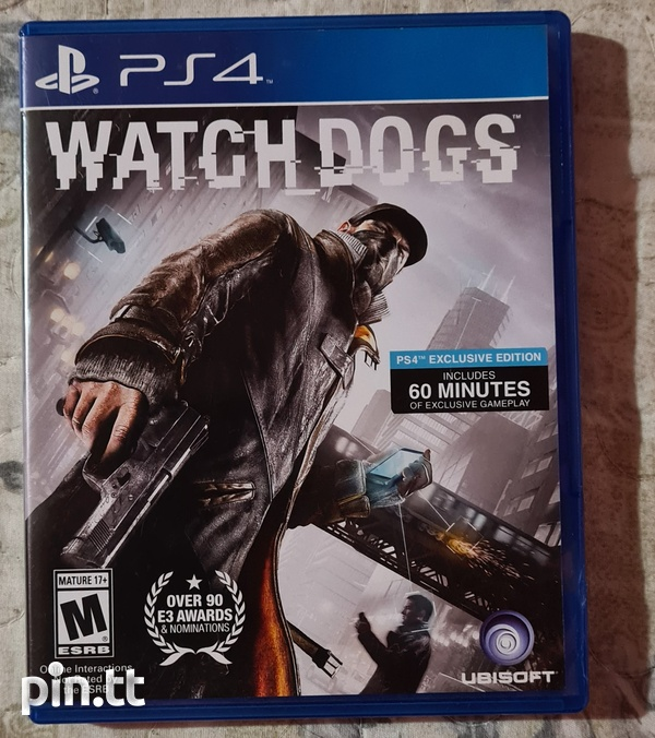Watch Dogs - PS4 Game-1