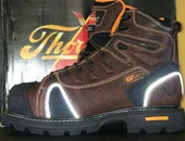 NEW STEEL TIPPED WORK BOOTS