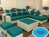 Real Teal Sectional