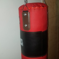 Slightly used, one-month old punching bag for children