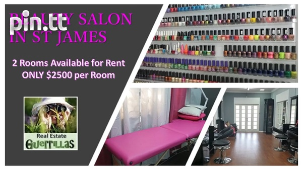 VACANT PROFESSIONAL ROOMS IN ST JAMES FOR BEAUTY AND HEALTH-1