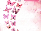 12pcs Wall Decor Butterflies