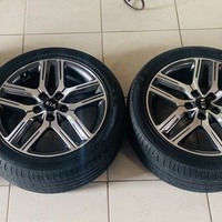 Kia 17inch RIMS ALONE
