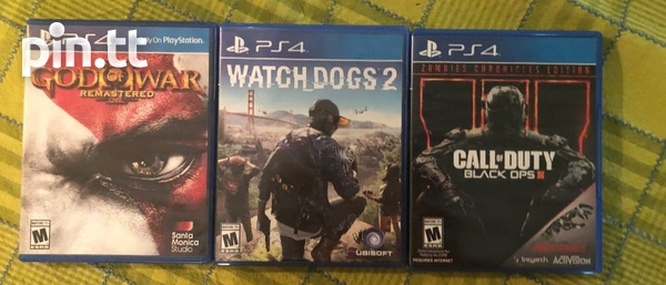Fifa + Nba2k watch dogs god of war and call of duty combo ps4 games-2