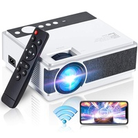 Mini Projector, 1080P and 220 in Display Support, 5500 Lumens