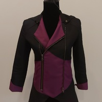 Black and Purple Jacket