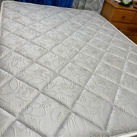 Queen Size Bed with Pillow-top Mattress