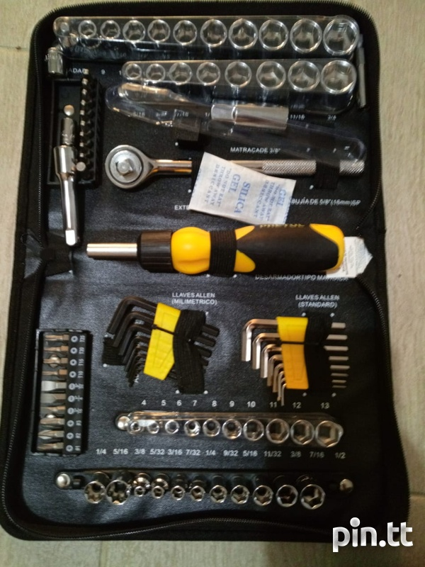 Pretul 85 piece mechanic tool kit-7