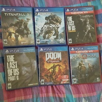Ps4 games, brand new and sealed