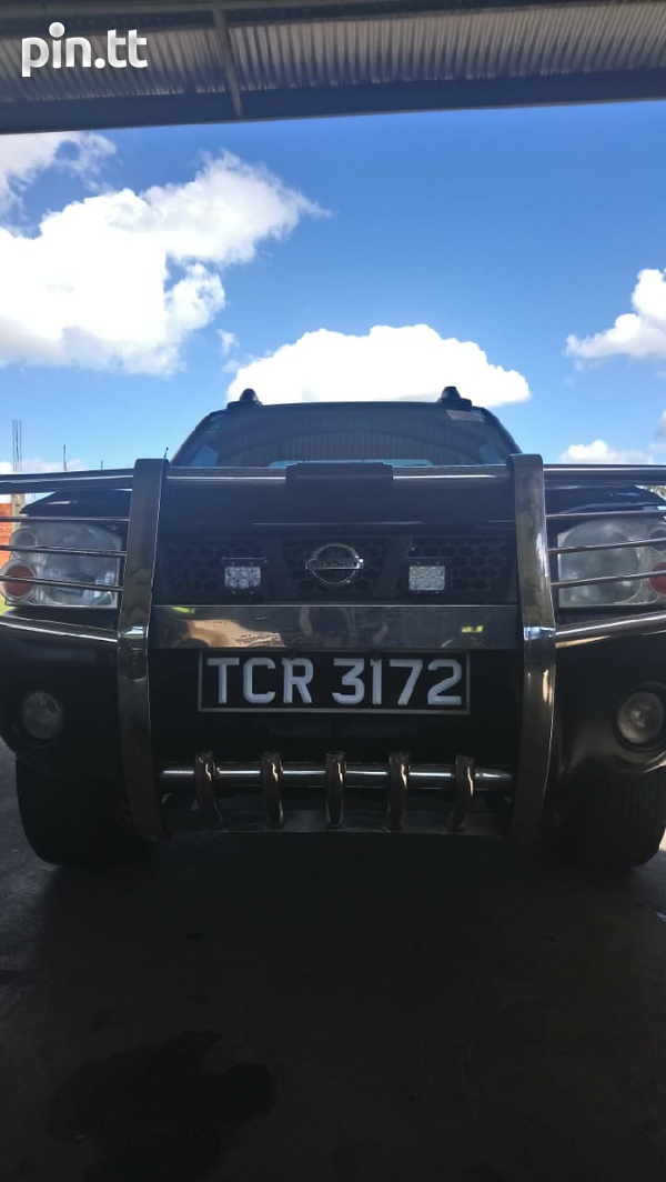Nissan Frontier, 2010, Tcr-7
