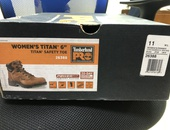 Used Steel Tip Safety Boots Male and Female