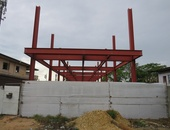Couva, California with Existing Steel Structure