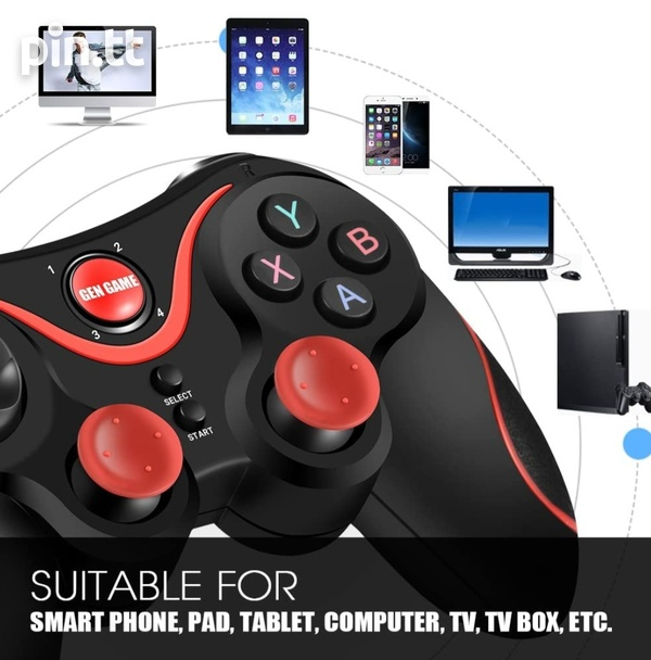 Brand New Wireless Bluetooth Gamepad for android, tv box, pc, ps3-8
