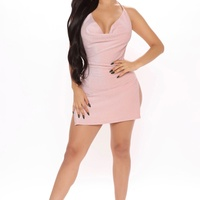 Pink Shimmery Dress
