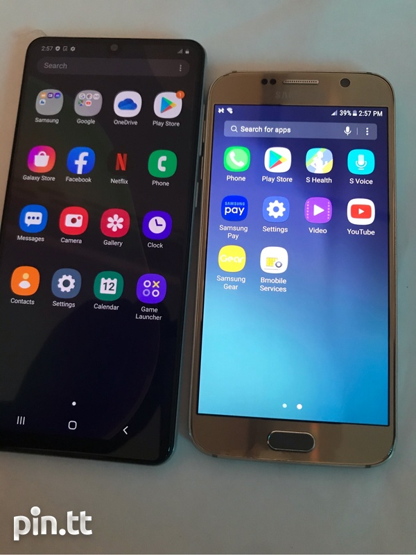 Samsung A31 And S6-1