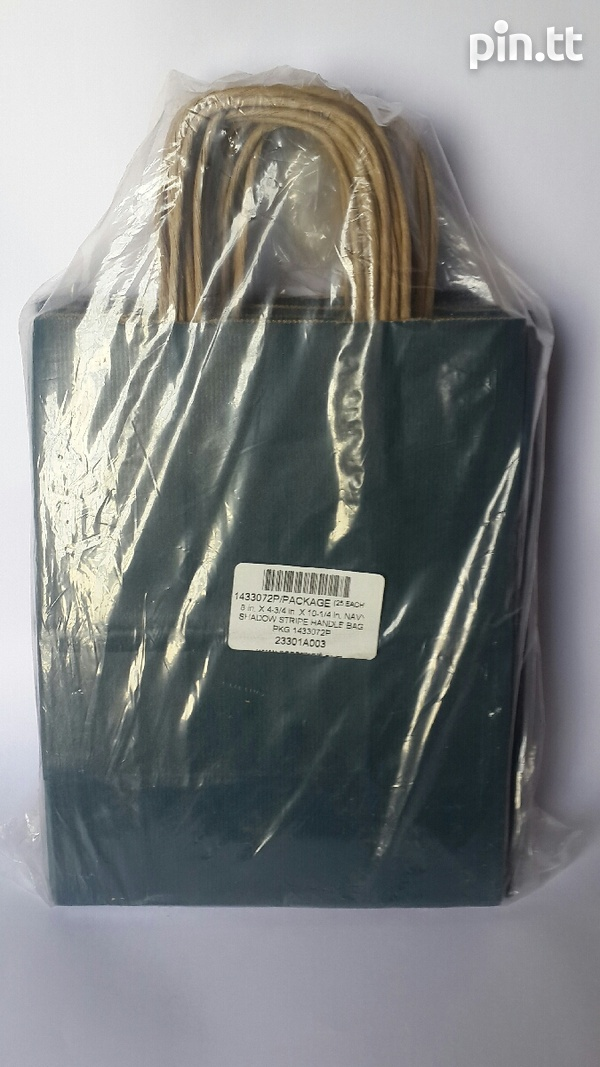 24 Paper Mart Paper Gift Bags with rope handles.-3
