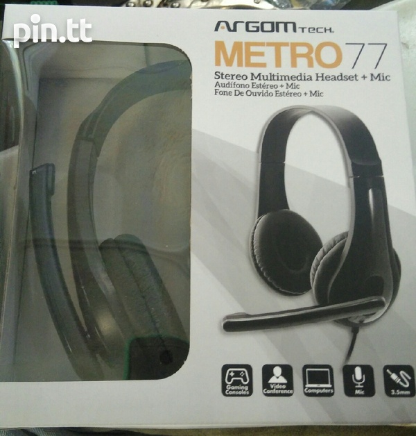 Video Conferencing and Gaming Headset