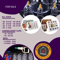 Cupping therapy cups