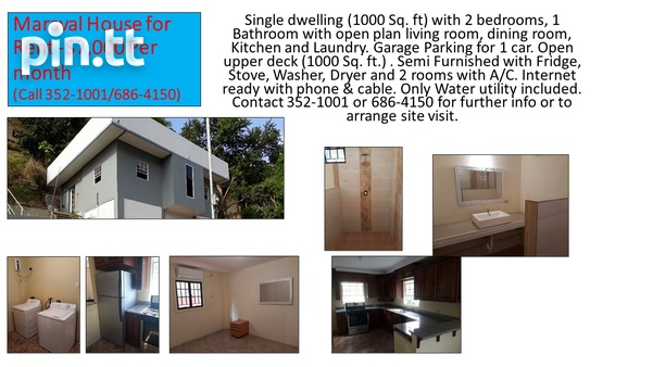 2 bedroom home immediately available