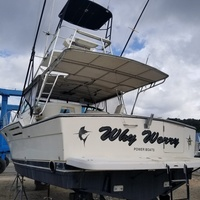1994 36ft Tiara Powered By twin Caterpillar 3208 Diesels