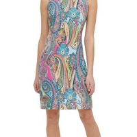 Tommy Hilfiger Paisley Print Dress Size 6