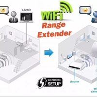 Brand New Wireless D-Link Dual Band WiFi Range Extender Repeater