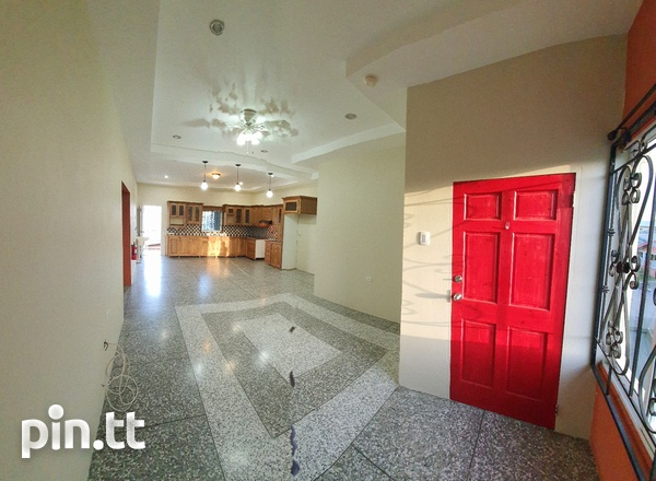 UNFURNISHED TWO BEDROOM ST MARY'S, BEAUCARRO 5 MINS TO CHAGUANAS 743-8020-4