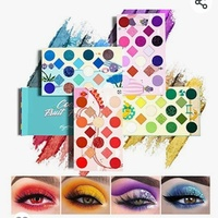 64 color high pigmented eyeshadow palette Cool Fruit Feast