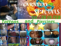 TATTOOS and PIERCINGS SPECIALS