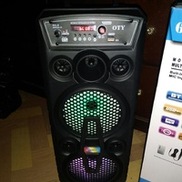 2000W OTY Portable, Bluetooth, Rechargeable Speaker