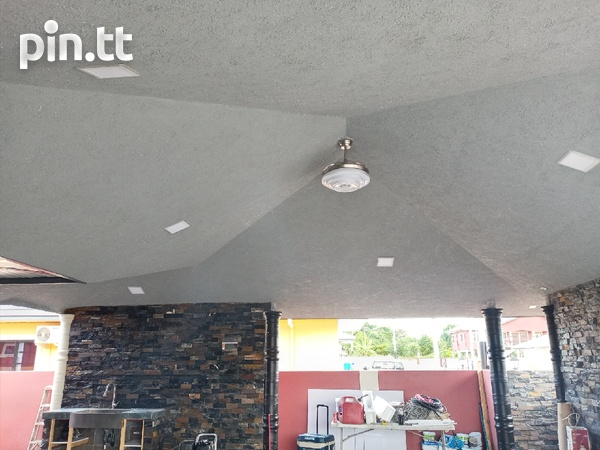 Tieling and stucco-1