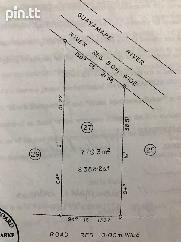 Cunupia Land Available-3